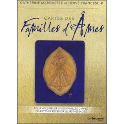 Cartes des Familles d'Ames - Pour vous relier à vos familles d'âmes célestes et recevoir leurs messages