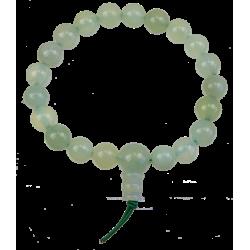 Bracelet mala tibétain - Serpentine