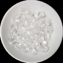 Perles Cristal de Roche 8 mm - Sachet de 50 perles